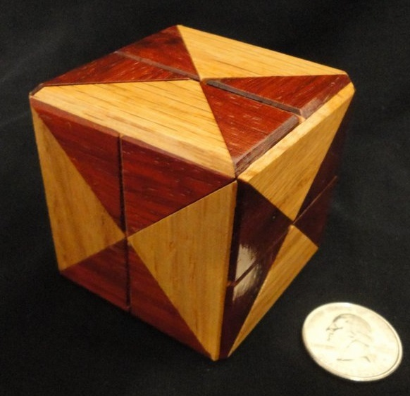 Diagonal Cube - Coffin - Crowell